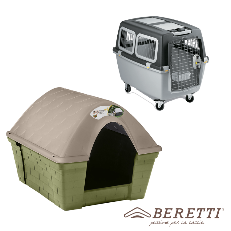 DOG CARRIERS AND DOG HOUSE