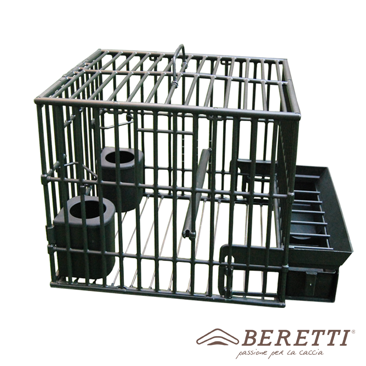 THRUSH CAGE FOR THE MAINTENANCE AND HUNTING SEASON