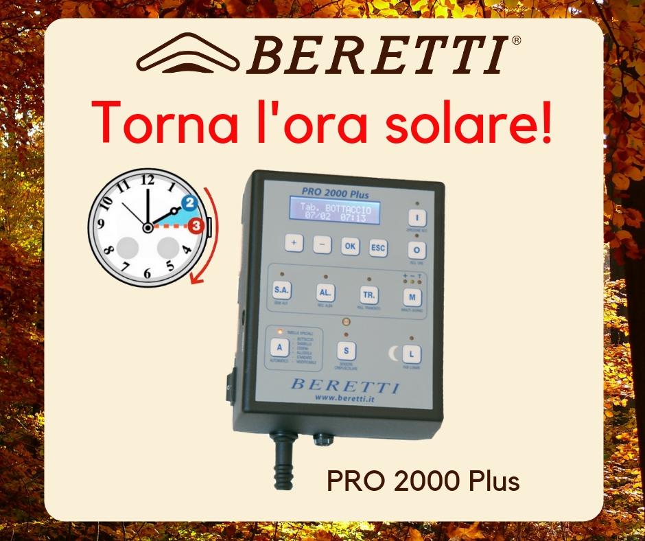 Fotoperiodo PRO 2000 Plus Ora solare