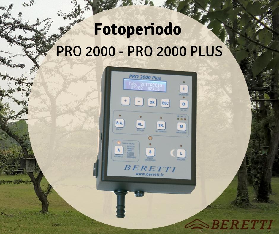 Fotoperiodo PRO 2000 Plus Beretti