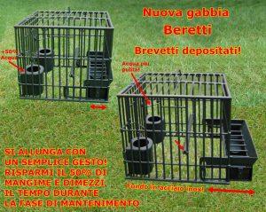 gabbia allungabile mantenimento brevettata Beretti