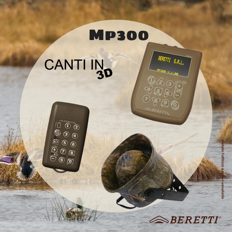 Richiamo MP300 anatre oche migratoria